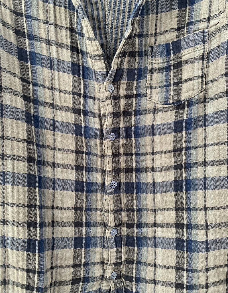 CP Shades CP Shades Sloane Double Cotton Flannel Top - 518 Mood