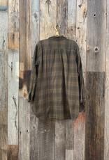 CP Shades CP Shades Double Cotton Teton Flannel Top - 517 Algae