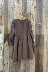 CP Shades CP Shades Double Cotton Yoko Dress - Espresso