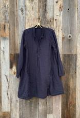 CP Shades CP Shades Jasmine Double Cotton Dress - Lava