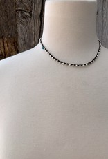 Minetta Design NALI Necklace - Turquoise on Black