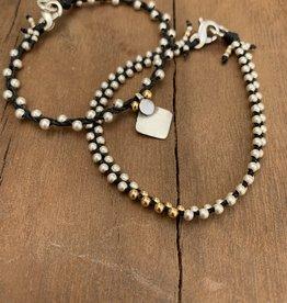 Minetta Design BDR Bracelet- Silver & Gold