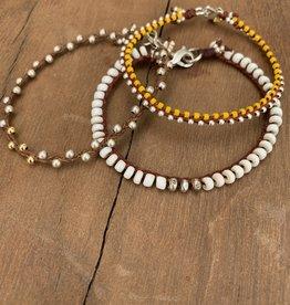 Minetta Design BDR Bracelet - Yellow & Silver