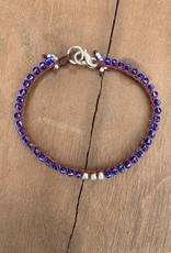 Minetta  Design BSR BLUE Bracelet - Blue with Pecos