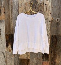 CP Shades CP Shades Roxy Cotton Sweatshirt - White