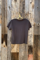 Perfect White Tee Harley Boxy Crew - Vintage Black