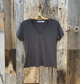 Perfect White Tee Hendrix Basic V-Neck - Vintage Black