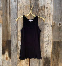 Perfect White Tee Jagger Layering Tank - Black
