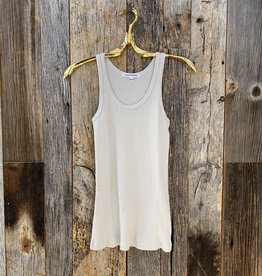 Perfect White Tee Jagger Layering Tank - Pearl Grey