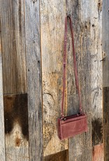 Elevate Simple Crossbody  - Maroon
