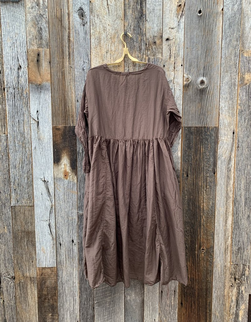 CP Shades CP Shades Cotton Silk Francie Dress - Espresso