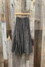 CP Shades CP Shades Cotton Silk Plaid Lily Skirt - 187 - Algae