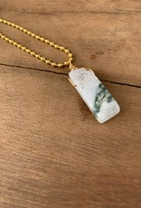 Leap Jewelry Necklace - Wrapped Jasper 003