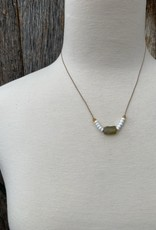 Leap Jewelry Necklace - Glass 002