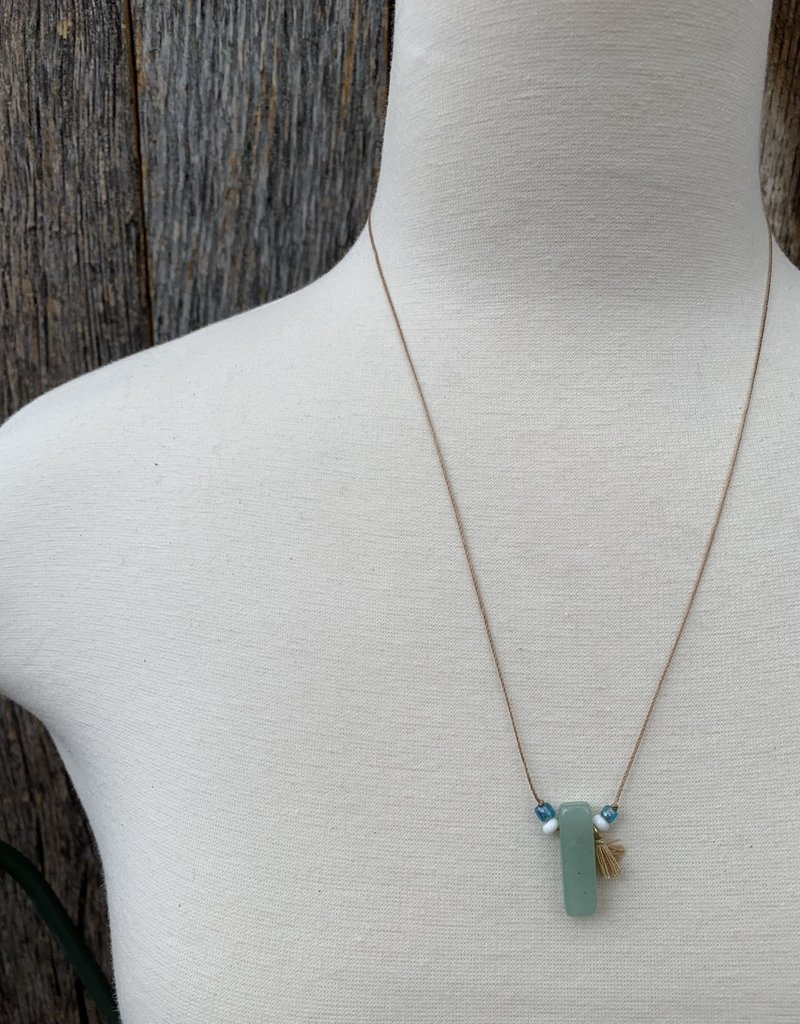 Leap Jewelry Necklace - Jasper Cord 001