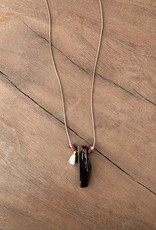 Leap Jewelry Necklace - Tiger's Eye Cord 001