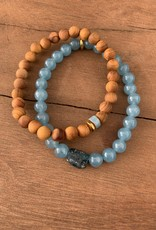 Leap Jewelry Bracelet - Cedarwood 002