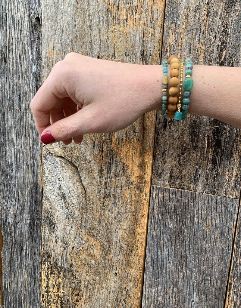 Leap Jewelry Bracelet - Cedarwood 001