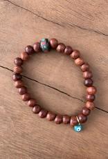 Leap Jewelry Bracelet - Rosewood 002