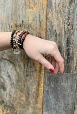 Leap Jewelry Bracelet - Obsidian 001