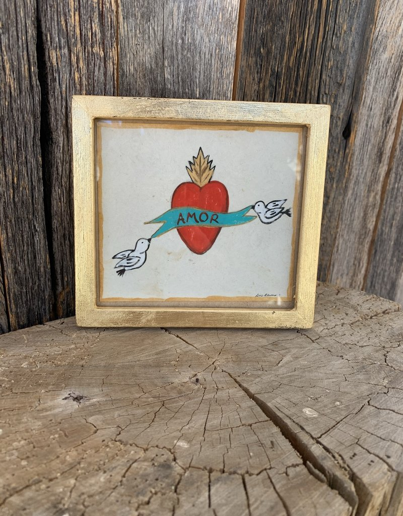 River Song Jewelry River Song Jewelry Luis Romero Amor Heart Painting