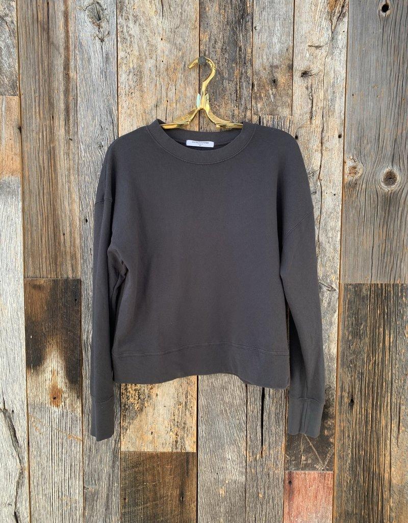 Perfect White Tee Tyler Pullover Sweatshirt - Vintage Black