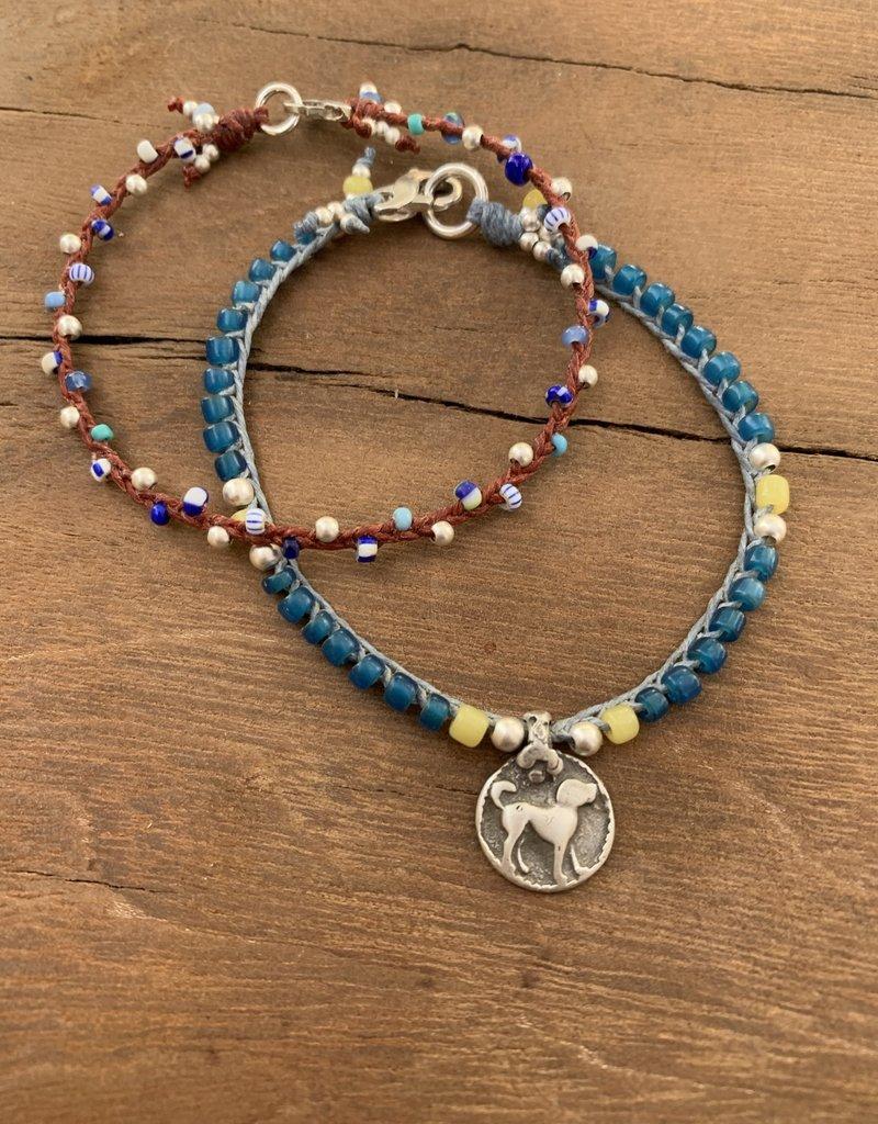 Minetta Design B-Blue TradeTwig Bracelet - Sienna