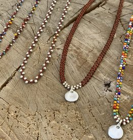 Minetta Design NDR Necklace - Maroon on Sienna