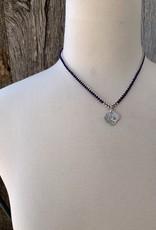 Minetta Design NDR Necklace - Navy & White on Sienna