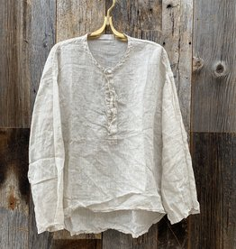 CP Shades CP Shades Susie Linen Top - Oat