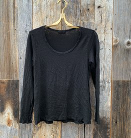 CP Shades CP Shades Gia Linen Top - Black