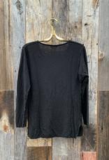 CP Shades CP Shades Fez Linen Top - Black