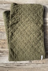 Utility Canvas Utility Canvas Throw Blanket - Olive