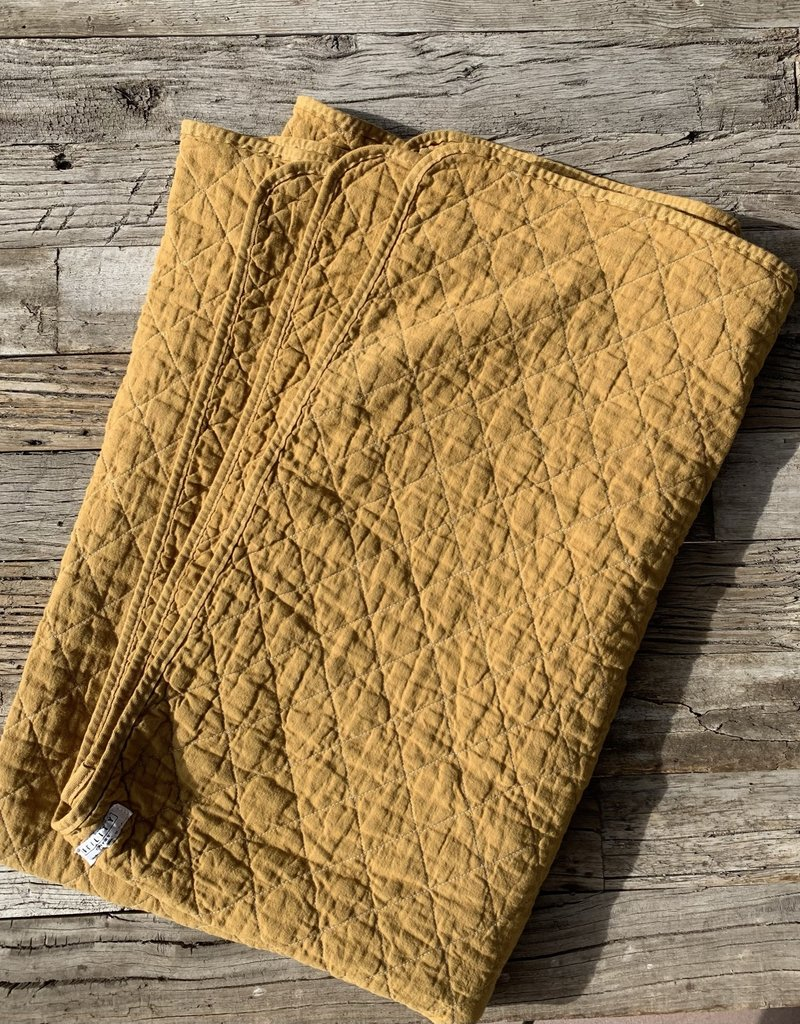 Utility Canvas Utility Canvas Throw Blanket - Honey