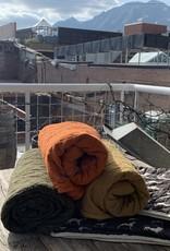 Utility Canvas Utility Canvas Throw Blanket - Orange