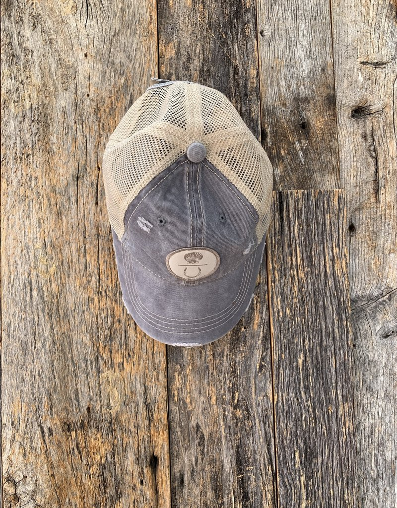 Island Farm Island Farm Baseball Cap - Blue Grey