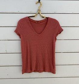 CP Shades CP Shades Bijou Short Sleeve Shirt - Red Clay