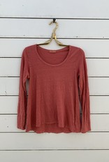 CP Shades CP Shades Gia Linen Top - Red Clay