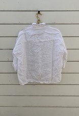 CP Shades CP Shades Rooney Linen Top - White