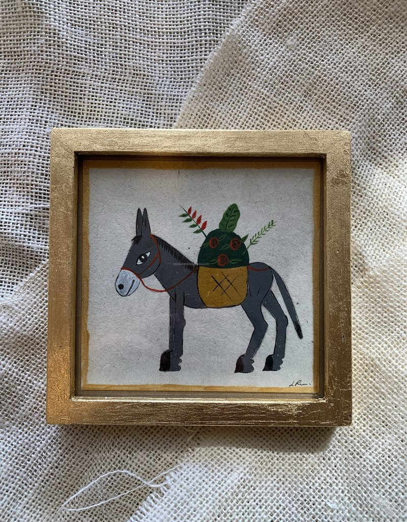 River Song Jewelry River Song Jewelry Luis Romero Donkey with Flowers