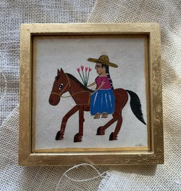 River Song Jewelry River Song Jewelry Luis Romero Women on Horse Painting