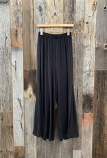 Project Social T Project Social T Rimini Wide Leg Pant - Black