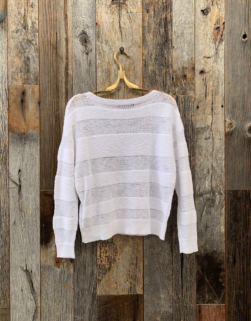 SWTR SWTR Crochet Pullover - White