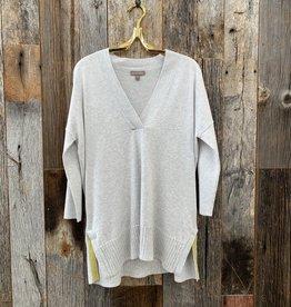 Lilla P Lilla P 3/4 Sleeve Shawl Tunic Sweater