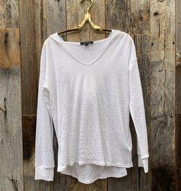 SWTR SWTR Linen Hoodie - White