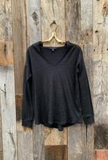 SWTR SWTR Linen Hoodie - Black