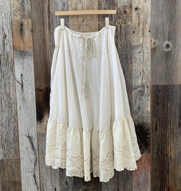 Magnolia Pearl Magnolia Pearl Skirt 99 - Antique White