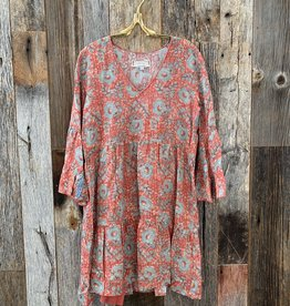 Johnny Was Johnny Was Easy Fit Tiered Dress - Multi