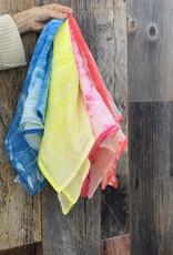 Scarf Shop Fine Organic Cotton Neck Scarf - Wrap Dye - Coral