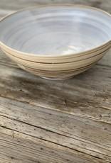 Fanta Watson Mixed Clay Bowl - Cream and Red